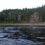 река Алдан в районе Томмота