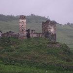 каменные башни Сванетии
